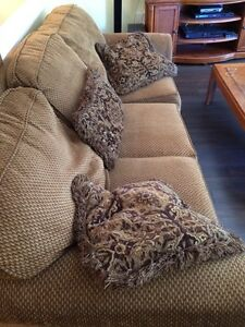 Pullout Couch + Love Seat OBO
