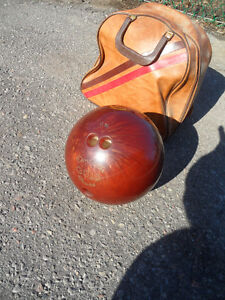 Bowling Ball Don Carter & Bag Brunswick