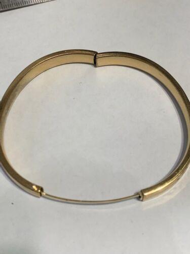 Antique WEH Gold Filled 1/20 14K Hinged Bangle Bracelet Small Wrist E-4