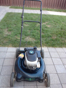 "21"" MASTER CRAFTS GAS LAWNMOWER 4.25 HP WORKS EXCELLENT"