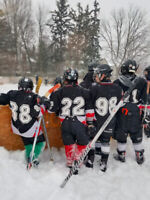 Players wanted - FREE outdoor hockey league  (6-12 yrs)
