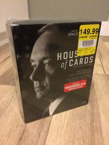 House of Cards; complete seasons 1-4 - BLU-RAY edition (1080P)