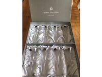 Royal Doulton Crystal Glasses