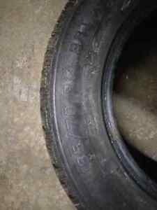 185 70 14 winter tires and steelies Cambridge Kitchener Area image 3