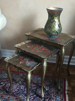 Antique Italien Stacking Tables
