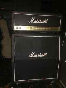 Marshall JCM900 dual reverb 100w and 1960a 4x12
