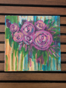 Small Acrylic Canvas Painting