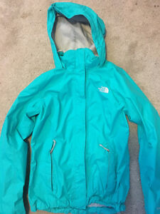 North Face Jacket -Mint Condition Womens XS/S Teal