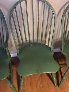 6 Windsor chairs Kitchener / Waterloo Kitchener Area image 2