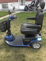 3 wheel pride victory 10 mobility scooter with warranty