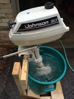 1990 JOHNSON 3 HP OUTBOARD MOTOR