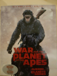 War for the planet of the apes bramd new $5
