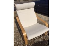 IKEA Poang Armchair in Excellent Condition.