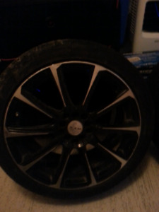 4 good aluminum rims 18inch