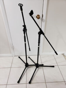 Microphone Stands w/ Boom
