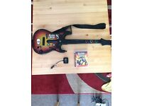 PS3 Guitar & Game
