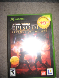 STAR WARS Episode 3, XBOX Game