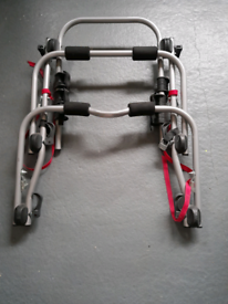 Great condition (never used)Halfords Rear High Mount 3 Cycle Carrier
