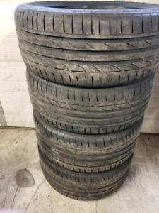 225/40/19 255/35/19 summer tires