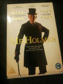 Mr Holmes dvd £5 OVNO PLEASE