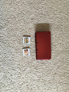 nintendo 3ds comes with 3 games but no charger