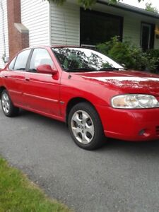 2006 Nissan Sentra,LOW Kms,,5 speed