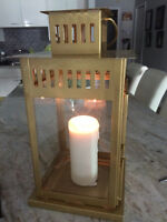 Gold Candle Lanterns -$25.00 each