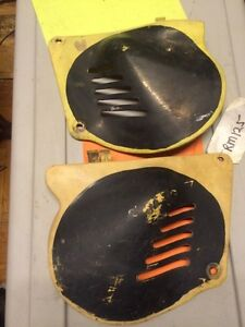 1976 Suzuki RM125 Side Panel Covers