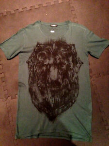 Balmain Green Lion Tee size 44 fits M-L $480
