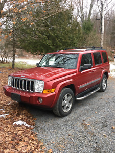 2010 Jeep Commander Red SUV, Crossover