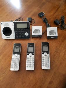 Ensemble de téléphone 3 combinés