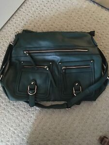 Green leather call it spring purse