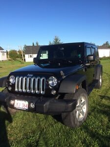 2014 Jeep Wrangler Sport Unlimited