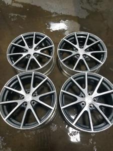 Factory Mitsubishi Aluminum 18 x 8 Wheels