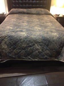 3 Hand Quilted Matching Quilts for RV/Camping Trailer Beds/Bunks