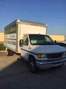 Ford E450 Super Duty 16 footer, with ramp