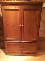 Solid Wood wall unit / cabinet