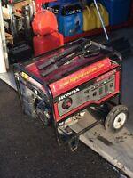 Honda generator 6500 watt