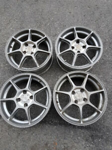 Rare Enkei RS+M for sale, 15 inch, 4x100