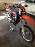 2013 KTM 350SXF, Mint shape with tons of extras. Possible Trades
