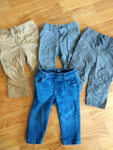 12-18 month boy pants lot