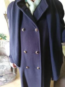 Manteau en laine d'agneau chic et chaud