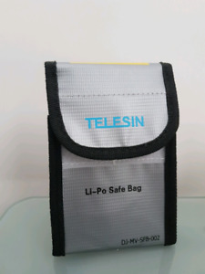 TELESIN Battery Bag (Lipo Safety Fire Resistant)