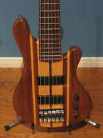 6 string MF bass guitar