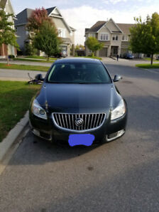 2013 Buick Regal with Turbo