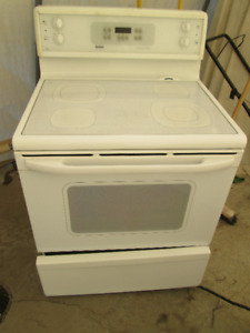 Flat top stove and OTR Microwave combo