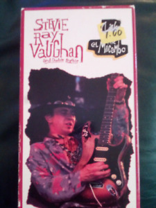 STEVIE RAY VAUGHAN AND DOUBLE TROUBLE VHS TAPE