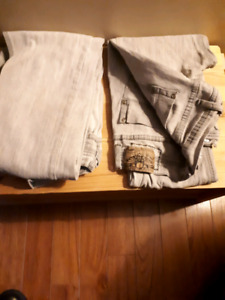 3 pairs boys/Men's jeans all size 32