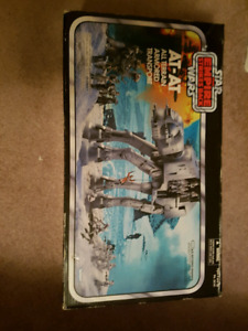 New in box star wars vintage collection at-at