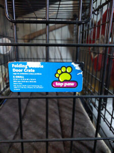 X-Small Top Paw Wire Dog Crate.